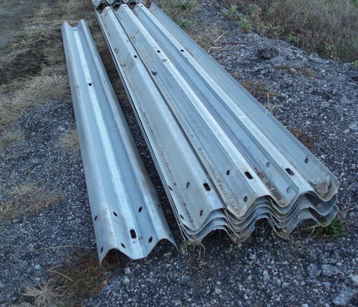 Standard SHORT W-Beam panel, building 12.5 feet per length