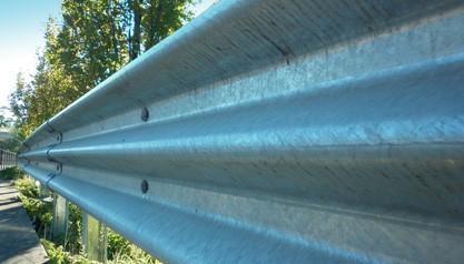 Thrie Beam Guardrail For Sale